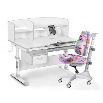 Комплект Evo 50 G Grey (арт. Evo-50 G + кресло Y-528 GL) Evo-kids серый