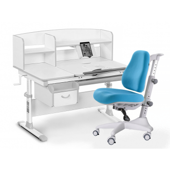 Комплект Evo 50 G Grey (арт. Evo-50 G + кресло Y-528 KBL) Evo-kids серый