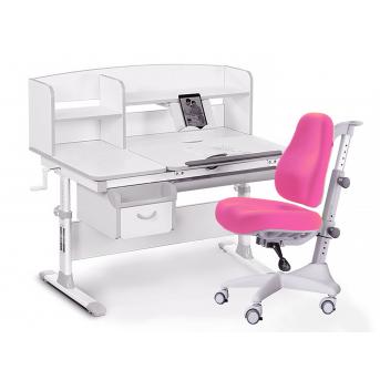 Комплект Evo 50 G Grey (арт. Evo-50 G + кресло Y-528 KP) Evo-kids серый