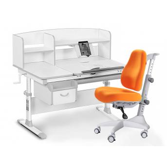 Комплект Evo 50 G Grey (арт. Evo-50 G + кресло Y-528 KY) Evo-kids серый