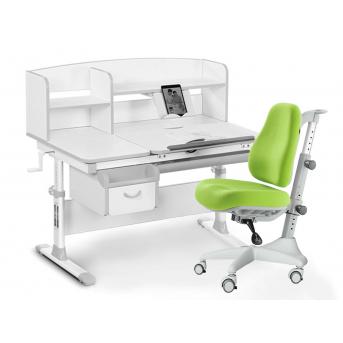 Комплект Evo 50 G Grey (арт. Evo-50 G + кресло Y-528 KZ) Evo-kids серый
