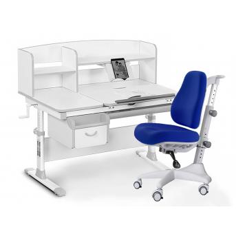 Комплект Evo 50 G Grey (арт. Evo-50 G + кресло Y-528 SB) Evo-kids серый