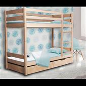 Двухъярусная кровать Донни Мистер Мебл 80х190 Дерево
