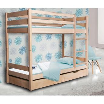 Двухъярусная кровать Донни Мистер Мебл 80х200 Дерево