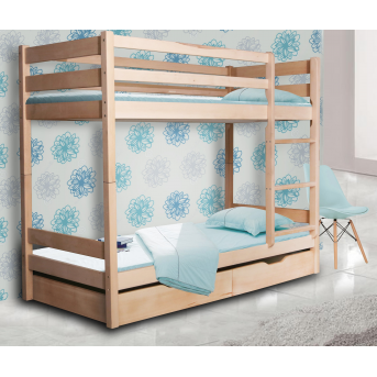 Двухъярусная кровать Донни Мистер Мебл 90х190 Дерево