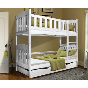 Двухъярусная кровать Модди Мистер Мебл 90х190 Дерево