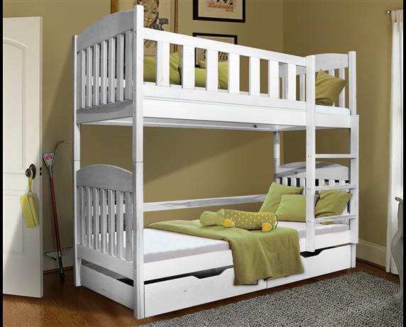 Двухъярусная кровать с дополнительным спальным местом Модди Мистер Мебл 80x190