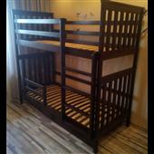 Двухъярусная кровать Хетти Мистер Мебл 80х190 Дерево