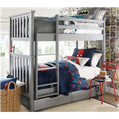Двухъярусная кровать Хетти Мистер Мебл 80х200 Дерево