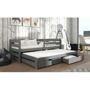 Кровать-диванчик с дополнительным спальным местом Летти Мистер Мебл 90x200