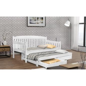 Кровать-диванчик с дополнительным спальным местом Юнис Мистер Мебл 80x190