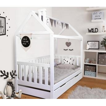 Кровать-домик с дополнительным спальным местом Доминик Мистер Мебл 80x190