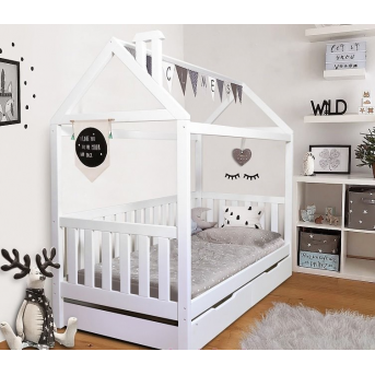 Кровать-домик с дополнительным спальным местом Доминик Мистер Мебл 90x200