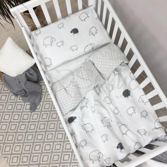 Сменный комплект постельного белья Baby Mix Овечки Маленькая Соня