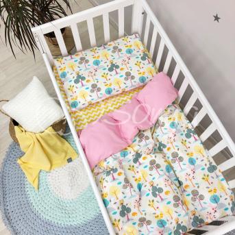 Сменный комплект постельного белья Baby Mix Совушки Маленькая Соня