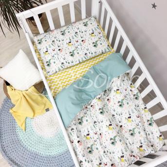 Сменный комплект постельного белья Baby Mix Рыцари Маленькая Соня