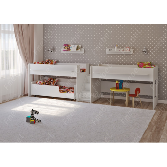 Кровать для троих детей Финикс Fmebel 80x190
