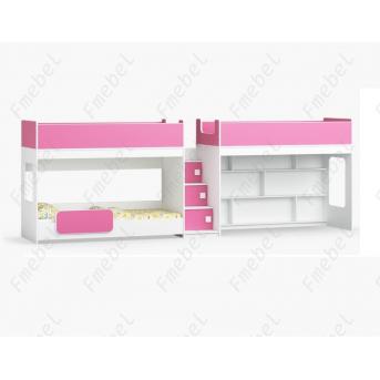 Кровать для троих детей Сент-Луис Fmebel 80x190