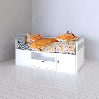 Кровать-диванчик Сантьяго Fmebel 80x190