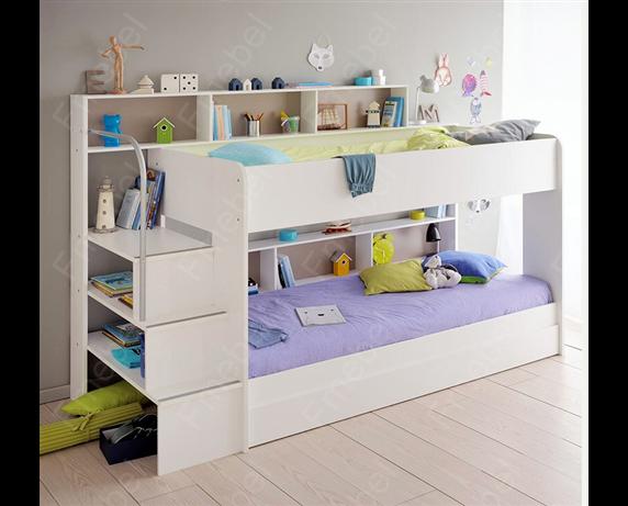 Двухъярусная кровать с дополнительным спальным местом Эдинбург Fmebel
