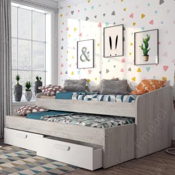 Кровать-диванчик с дополнительным спальным местом Корсика Fmebel 90x200