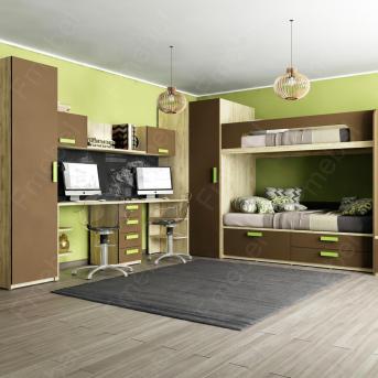 Комната для двоих детей Джерба Fmebel стандарт
