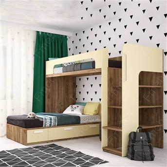 Двухъярусная кровать Гренландия Fmebel 90x200