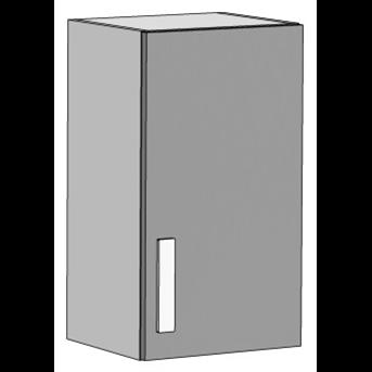 Шкаф навесной вертикальный (схема) Fmebel