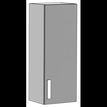 Шкаф навесной вертикальный 2 (схема) Fmebel