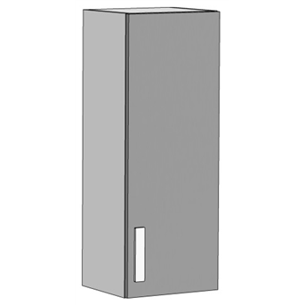 Шкаф навесной вертикальный 3 (схема) Fmebel