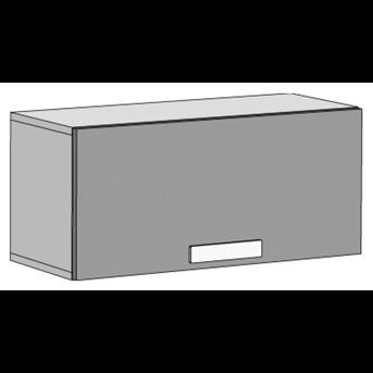 Шкаф навесной горизонтальный (схема) Fmebel