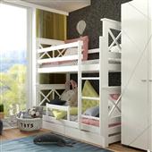 Двухъярусная кровать Лея Fmebel
