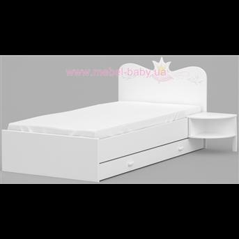 Распродажа 173 Кровать с матрасом и покрывалом Серия Magic Princess Meblik 190х90