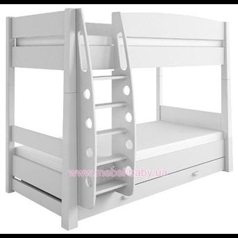 Распродажа 180 Двухъярусная кровать Серия Uni Grey/Серия Uni Fresh