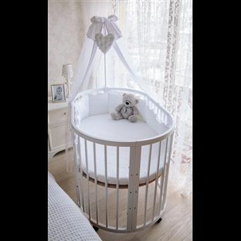 Кроватка многофункциональная 7 в 1 Dreammy 72х122 белый