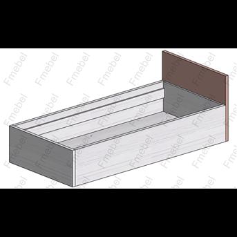 Кровать с подъемным механизмом (схема) Fmebel люкс