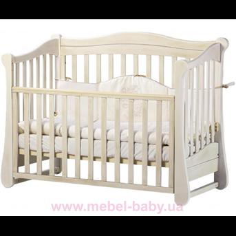 Кроватка Соня ЛД18 ЕС Верес 60х120 Патина дуб молочный