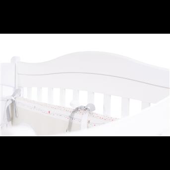 Распродажа Кроватка с ящиком и маятниковым механизмом Соня ЛД 18 Верес 60х120 белый