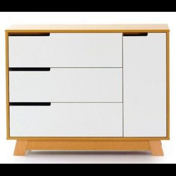 Комод (900) (пп) Манхэттен Верес бело-буковый
