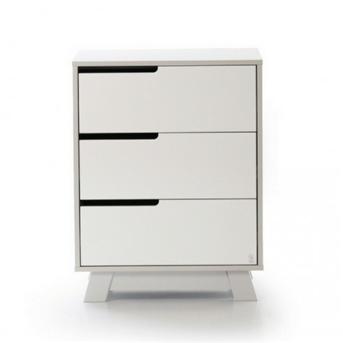 Комод (600) Манхэттен Верес бело-серый