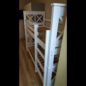 Двухъярусная кровать Лея Мистер Мебл 80х190 Дерево