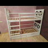 Двухъярусная кровать Лея 80х190 Мистер Мебл