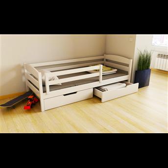 Распродажа Кровать-диванчик Хюго с ящиками и бортиком Луна 80x160