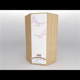 44 Шкаф угловой серия Sakura К-2 люкс