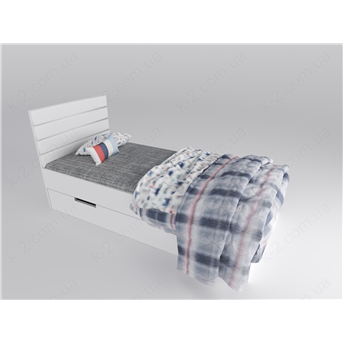 15 Кровать с мягким изголовьем 90х190 К-2 люкс