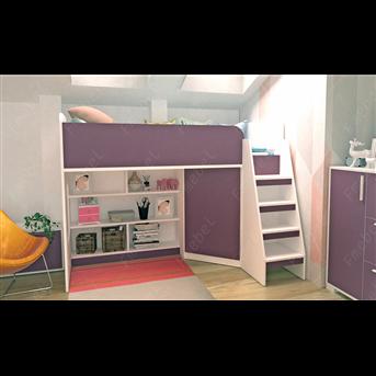 Кровать-чердак Валенсия-2 Fmebel