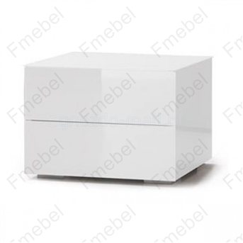 Тумба навесная с двумя ящиками (схема) Fmebel элит