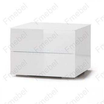 Тумба навесная с двумя ящиками (схема) Fmebel люкс
