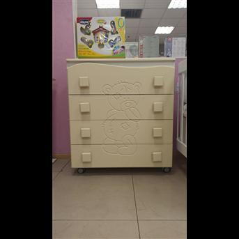 Распродажа Комод Тедди Сиди-М Ваниль 805х500x905