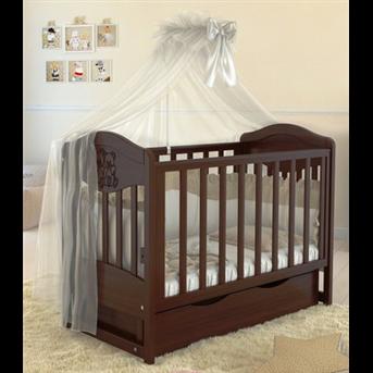 Распродажа Кроватка детская LUX2 два малыша Angelo 60x120